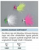 Balzer Trout Attack Micro Jighead Set