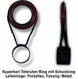 Teleruten Ring #Superhart #-4.0mm ø Tube