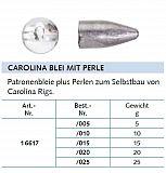 Balzer Carolina Bleie mit Perlen 15g