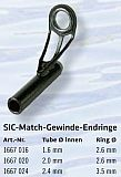 SIC Spitzen Ring - Gewinde Tube ø 2.0mm