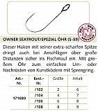 Owner S-59 Meerforellenhaken Größe 6