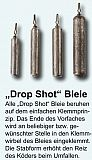 Paladin Drop Shot Bleie Long 10g, 2Stück