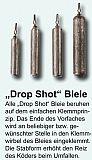 Paladin Drop Shot Bleie Long 15g, 1Stück