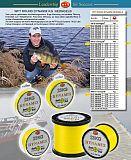 WFT Schnur Dynamix Round gelb 18kg 150m