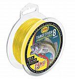 WFT Schnur TargetFish Zander gelb -8kg