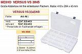 Meiho Köderbox Versus  VS 3045 Klar