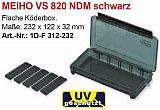 Meiho Köderbox Versus #VS820 NDM schwarz