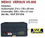 Meiho Köderbox Versus #VS808 schwarz