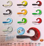 Quantum Curly B-Bobbles 4.2cm #rot-weiss
