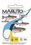 Maruto Haken Forelle 150cm Größe 12