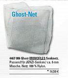 Senknetz monofil GHOST 1 x 1 Meter