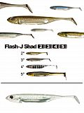 "Fish Arrow Flash J Shad 3"" - 21 WhSilve"