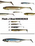 "Fish Arrow Flash J Shad 5"" - 04 PrBluSi"