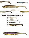 "Fish Arrow Flash J Shad 5"" - 05 PuWeSil"