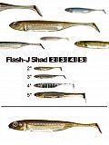 Fish Arrow Flash J Shad 5 - 01 GrPuSil