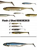 "Fish Arrow Flash J Shad 4"" - 04 PB-Silv"