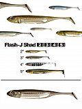 """Fish Arrow Flash J Shad 4"""" - 07 Waka-Si"""