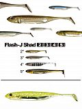 "Fish Arrow Flash J Shad 4"" - 19 Ch-Silv"
