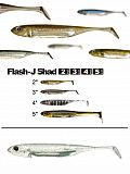 "Fish Arrow Flash J Shad 4"" - 21 Wh-Silv"