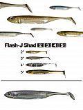 "Fish Arrow Flash J Shad 3"" - 25 La-Wa-A"