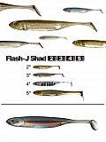 """Fish Arrow Flash J Shad 3"""" - 28 Ba-Ba-A"""