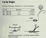 Behr Pop Up Weights Gewichte 1.5g