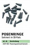 Zebco Posenringe, konisch