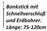 AngelSpezi Vario Lock Bankstick 75-120