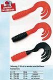 Behr Treble Tail Twister, rot - schwarz