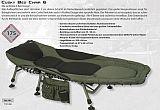 Anaconda Carp Bed Chair Cusky -175kg