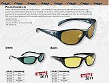 AQUA Polarisationsbrille Striper pink