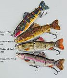 Jinza Supernatural Swimbait Trout 155 30
