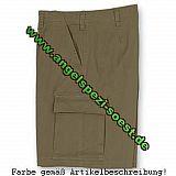 Bundeswehr Moleskin-Shorts, beige, S