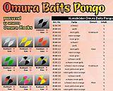 FTM Omura Baits #Pongo #G #Neon-Orange