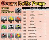 FTM Omura Baits #Pongo #G #Gelb-Orange