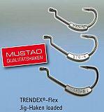 Behr Trendex Flex Jighaken bebleit 2/0