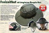 Behr Hut mit Moskitonetz Universalgröße