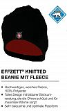 DAM EffZett Polartec Fleece Mütze