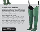 DAM Watstiefel Neopren Gummisohle 46-47