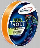 Climax Schnur Edeltrout silbergrau -18er