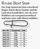 Iron Claw Round Bent Snap #-4kg