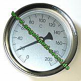 Thermometer für Räucheröfen, 0-200 Grad