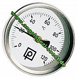 Thermometer für Räucheröfen 0-120° Grad