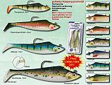 Trick Fisch Soft Jig 65g 15cm Regenbogen