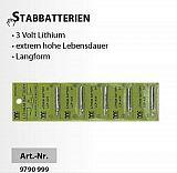 Sänger Stabbatterie 3 Volt Lithium