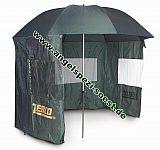 ZEBCO Schirmzelt mit Fenstern Ø250cm