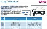 Schego Teichheizer, 200 Watt