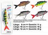 Balzer Lazer Eye Shad #08cm #Weißfisch