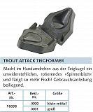 Balzer Trout Attack Teigformer klein