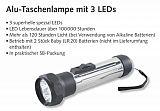 Balzer 3-fach Alu LED Stabtaschenlampe